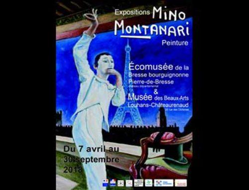 Mino Montanari à Pierre de Bresse & Louhans du 07.04 au 30.09.2018