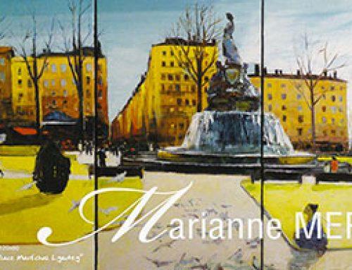 Exposition de Marianne Merle dans le Vieux Lyon
