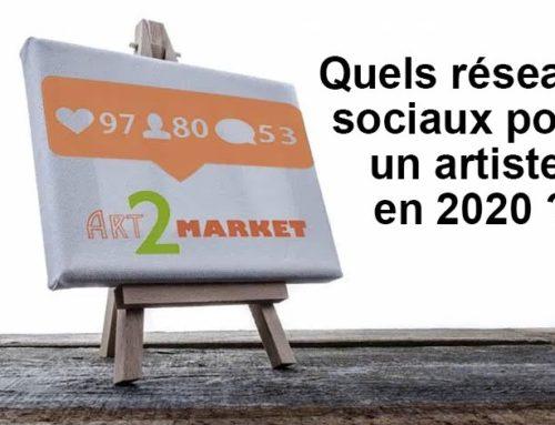 Quels réseaux sociaux pour les artistes contemporains (artistes peintres, sculpteurs, photographes) en 2020 ?